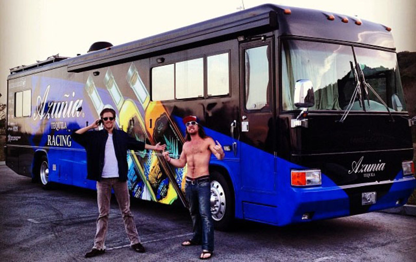 The Whereabouts Tour Bus